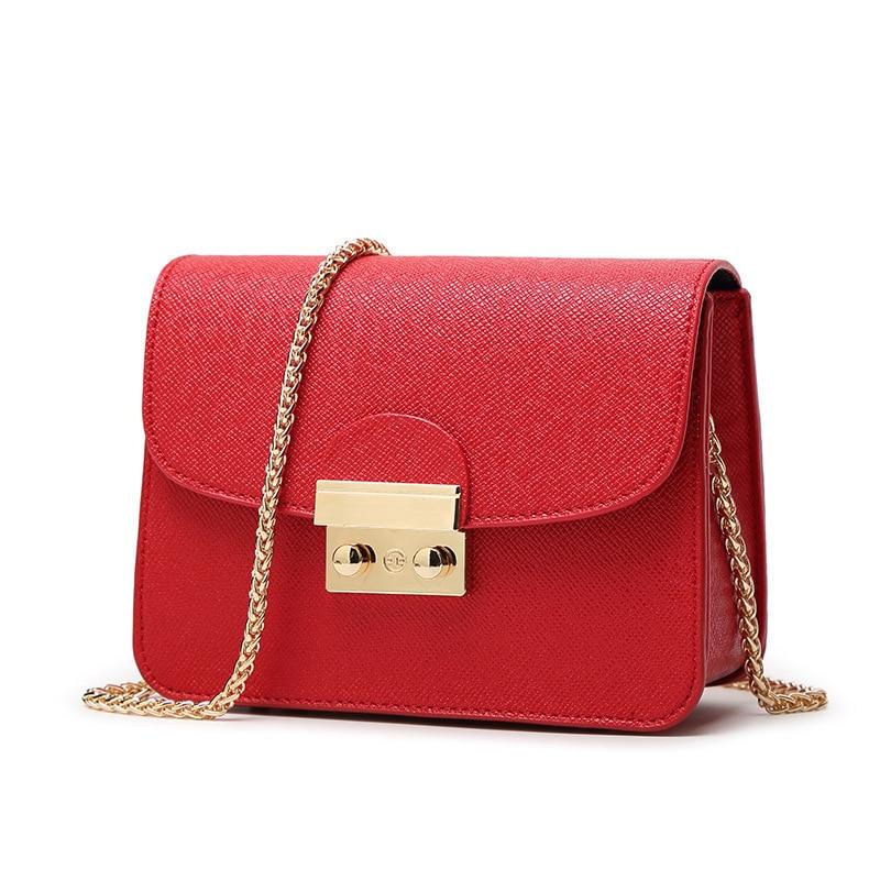 Fashion Shoulder Bag Genuine Leather Women Handbags Bags Brand New Solid Leather Handbag European Style