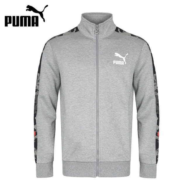 Original New Arrival 2018 PUMA Archive T7 jacket, Double Knit Men's jacket Sportswear