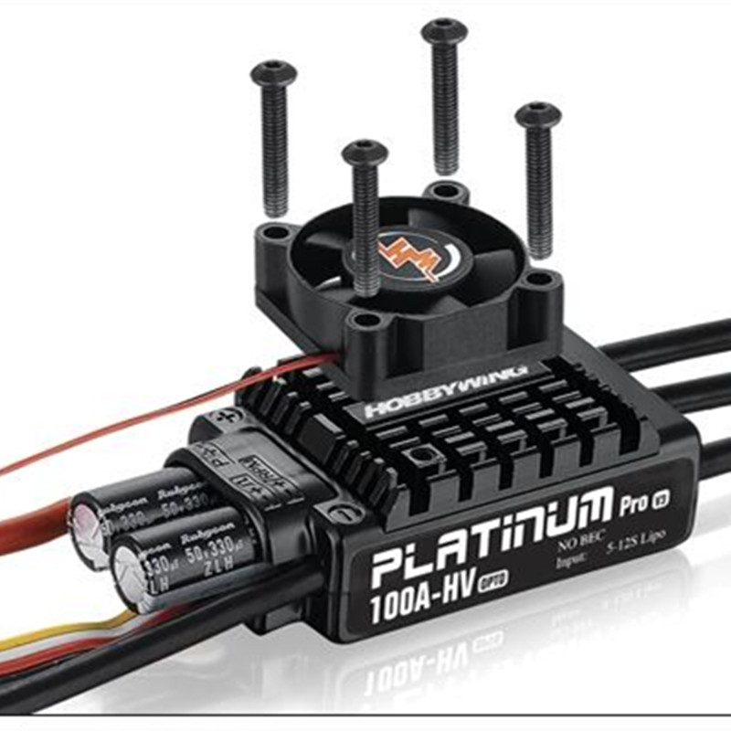 Hooray hobbywing Platinum-100A-HV-V3 Brushless ESC Lotte XRotor HV 60A 80A high-voltage adjustment Plant Spray UAV 10kg запонки lotte page 3