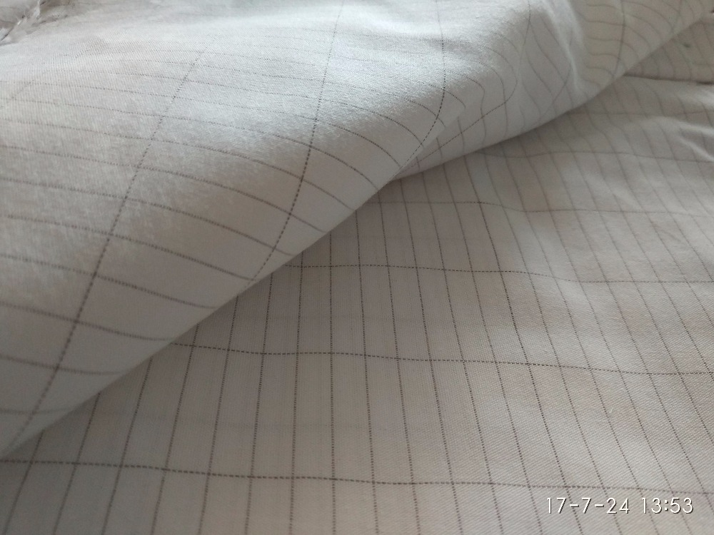 new hot sale EMF Silver Fiber Antistatic antibacterial Conductive Fabric For bed Sheet