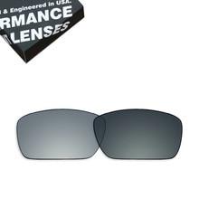ToughAsNails Polarisierte Ersatzgläser für Oakley Farbbrennstoffzellen Sonnenbrille Photochromen Grau (Objektiv Nur)