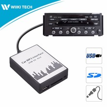 APPS2Car Car Radio USB SD AUX Interface Digital Music Changer Mp3 Adapter for Acura RDX 2007-2011 fits selected OEM Radios