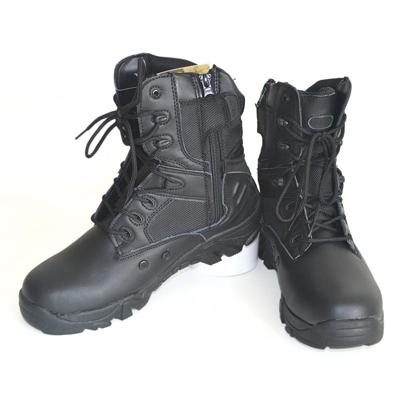 Military Boots Fashion Shoes outdoor Desert army boots male shoes Mens Tactical boot Black and Desert