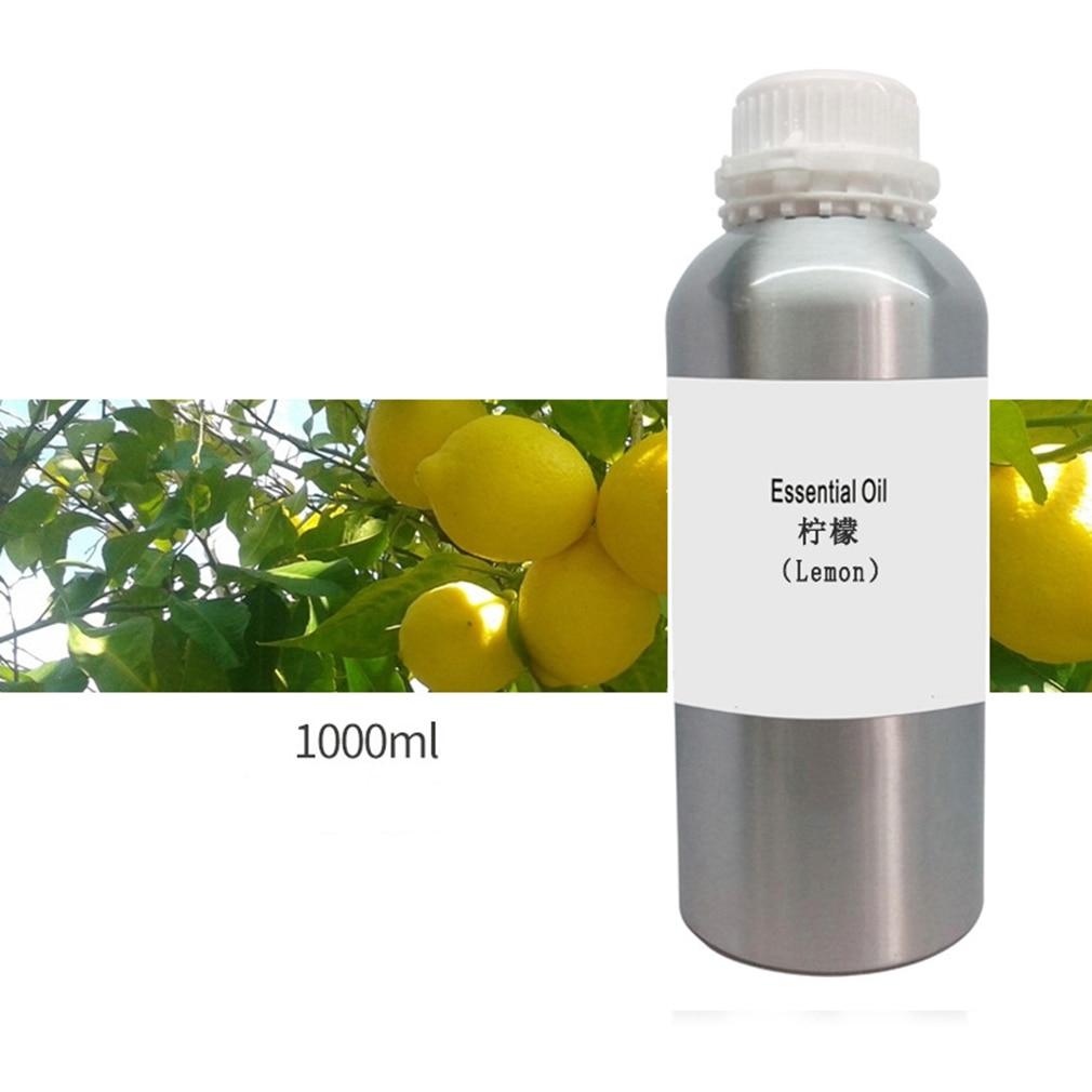 1000 мл натуральный растительный терапия эфирное масло s анти старения лимфодренаж лимонное эфирное масло тела массажные масла
