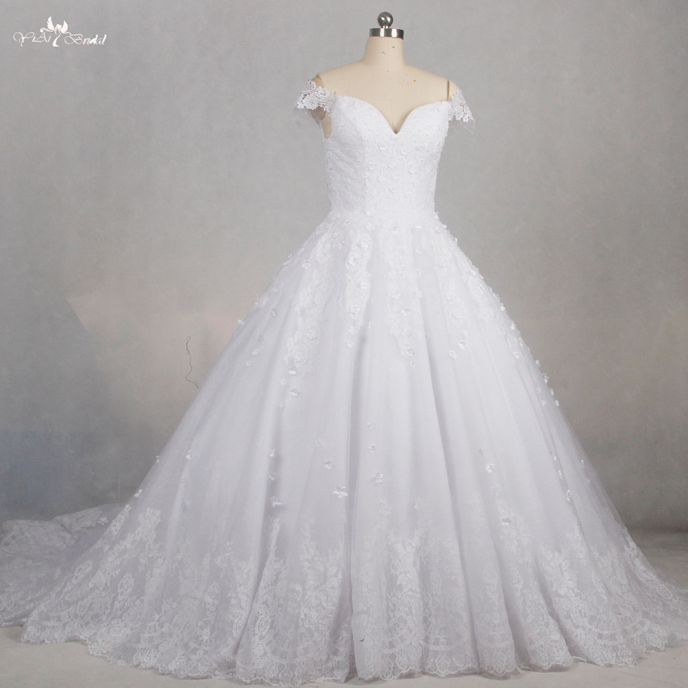RSW1178 Sweetheart Neckline Princess Ball Gown Off Shoulder Wedding ...