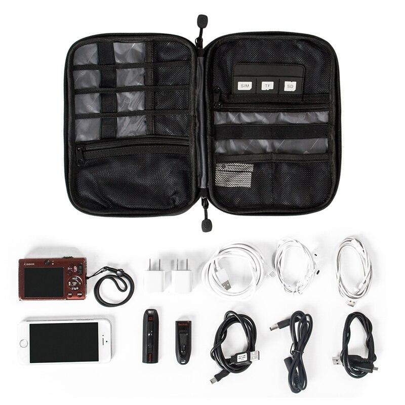 Elektronisk Tillbehör Bag Nylon Travel Bags Förvaringsväska För - Resetillbehör - Foto 3