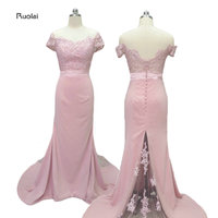 Charming One Shoulder Wedding Party Gowns 2015 High Quality A Line Long Chiffon Lilac Bridesmaid Dress
