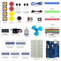 Keywish Основные Маленький Стартовый Комплект Для Arduino UNO R3 Starter комплект MEGA328 MEGA16 Обучающие Комплект Датчиков С UNO Доска Для дети