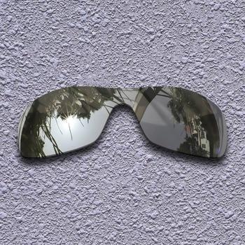 Silver Titanium Polarized Replacement Lenses for Oakley Antix Sunglasses