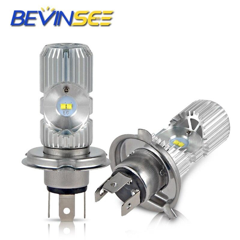 Motorrad LED Scheinwerfer Lampen Kopf Lampe Licht Lampen L12-H4/9003 Hallo Lo Beamn Für BMW F650 R NEUN T r1150R R1150RS R1200C R850