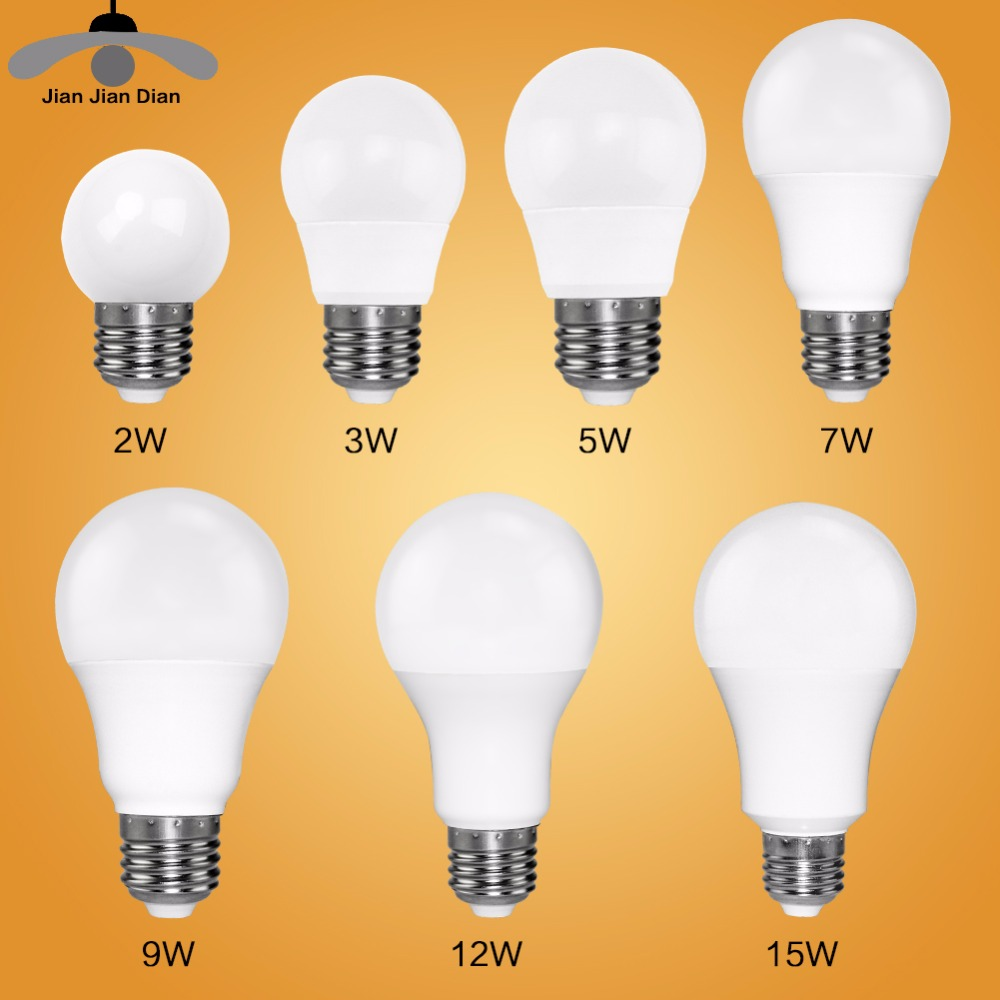 Led Bulb E27 E14 Bombillas Lamp cfl Ampoule Spotlight Light Lampada Diode 220V 110V SMD 2835 3W 5W 9W Home Decor Energy Saving 220v home lighting colorful led bulb ampoule e27 3w energy saving light red orange yellow green blue milk pink lamp smd2835