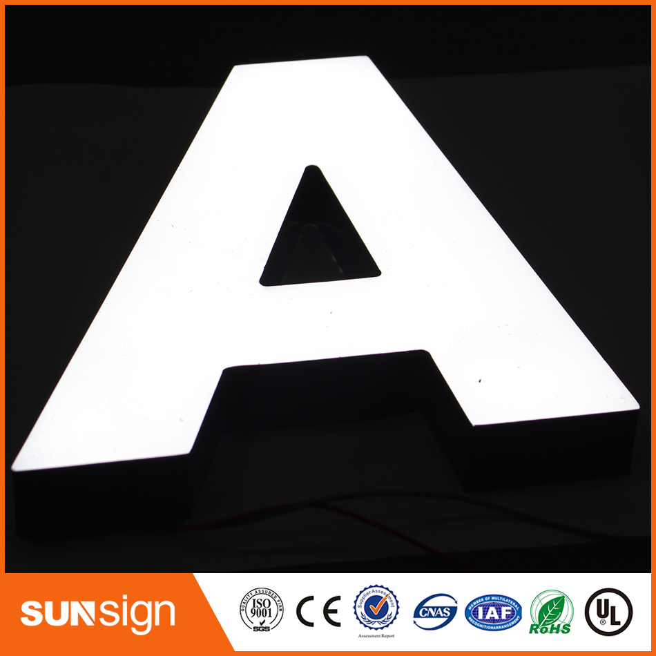 Frontlit Signage Acrylic Lighting Letter