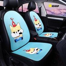 Good quality Car seat cushion new product fashion design linen four seasons universal car accessory gift