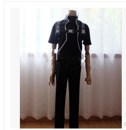 Sword Art Online 2 SAO kirito Death Gun cosplay costume