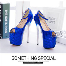 Women Super High Heels Party Shoes (3 colors)