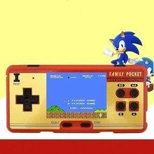 Cdragon Portátil Handheld Do Jogo Jogadores Console Construído em 638 Jogos Clássicos 8 Bit Retro Video Game Para Presente Apoio AV Out Put
