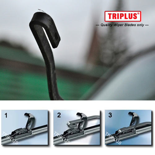 Toyoto Yaris Models 1999 To 2005 Alca Germany Super Flat Wiper Blades Front Replacement ASF2015H