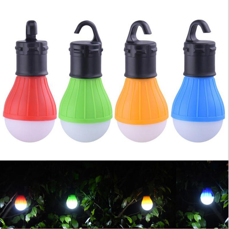 Mini Outdoor Hanging LED Tent Lights Portable Lantern Waterproof Energy Saving Light Bulbs For Camping Emergency Hiking Lamps