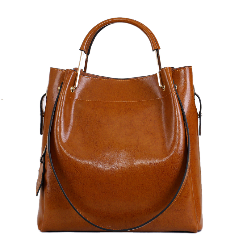 ФОТО Fashion Genuine Leather Women bags Fashion Tote bags Europe And American Style Trend Leather Composite Bags