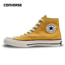 Converse All Star 1970 s Dos Homens das Sapatilhas das Mulheres Sapatas de  Lona Alta Clássico 4107a071df5