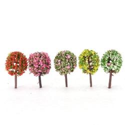 1/5pcs/Set Mini Tree Fairy Garden Miniatures Micro Landscape Resin Crafts Bonsai Figurine Garden Terrarium Accessories supply