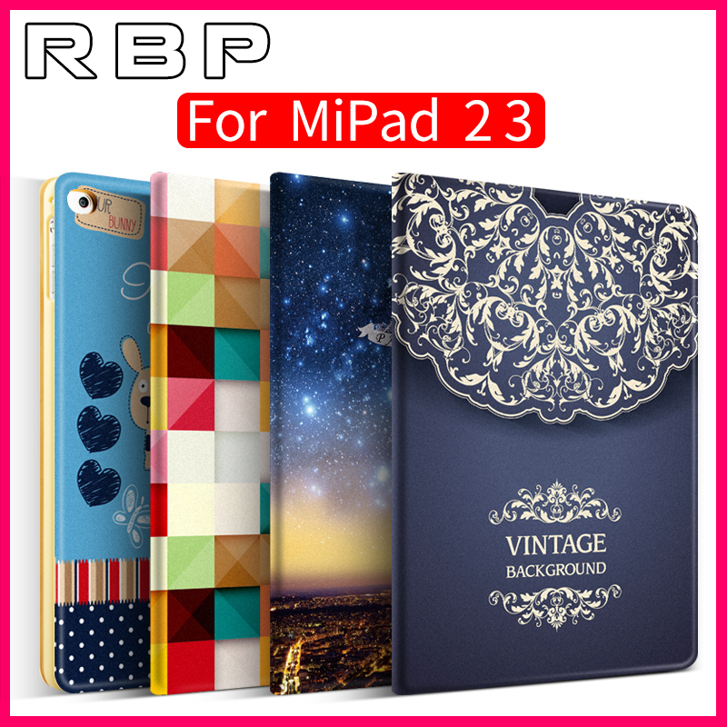 RBP for MiPad 3 case for xiaomi mipad 3 case Cartoon pattern for mipad 3 cover 7.9 inch Ultra-thin for xiaomi mi pad 3 cover