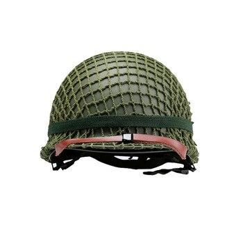 Perfect Replica World War 2 US Army M1 Steel Helmet With Helmet Mesh