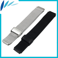 Stainless Steel Watch Band 18mm 22mm For MK Hook Clasp Strap Quick Release Loop Wrist Belt