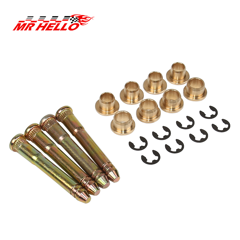 Zinc Plated Steel Door Hinge Pin & Bushing Repair Kit for <font><b>Honda</b></font> Civic <font><b>Accord</b></font> CR-V CRX CX DX EX SI EG6 B16 D16 EK EG EH EJ image