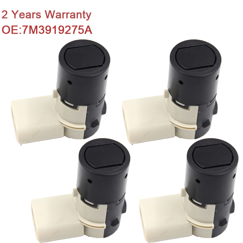 YAOPEI 4PCS/Lot PDC Parking Sensor For Audi VW Seat Skoda Ford Galaxy Sharan A2 A3 A4 A6 7M3919275A 4B0919275A цена
