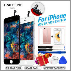 AAA Quality LCD For iPhone 4 5s 6 Display For iPhone 6 6s Plus LCD Touch Screen Replacement Assembly 100%New No Dead Pixel Ecran