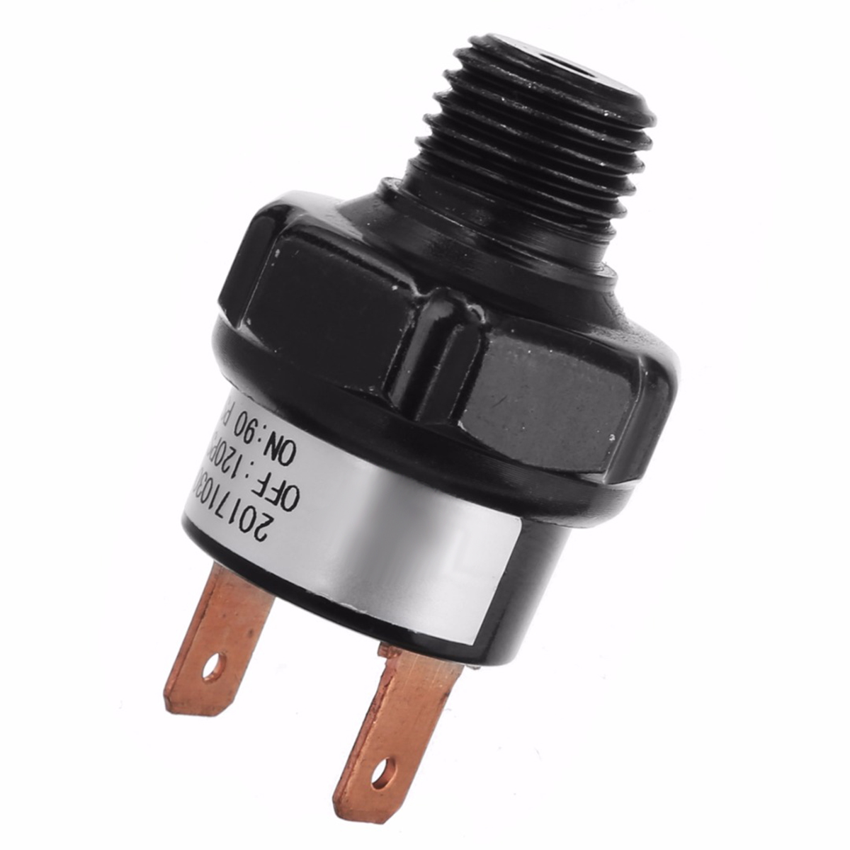 High Quality 1/4 NPT End Air Compressor Pressure Switch 90-120 PSI 12V Air Compressor Heavy Duty Control Switch Valve Mayitr 24a 16a 95 125psi manual dual pressure switch control valve for air compressor