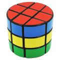 Diansheng 3x3 Cylindrical Magic Cube Professional Smooth Sticker Speed Puzzle Cube Educational Toys Special Gifts for Kids -45