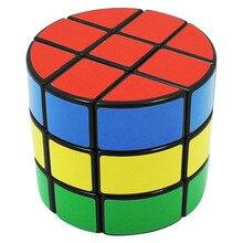 YKLWorld 3×3 Цилиндрический Магический Куб Профессиональный Гладкий Стикер Скорость Куб Головоломка Развивающие Игрушки Специальные Подарки для Детей-45