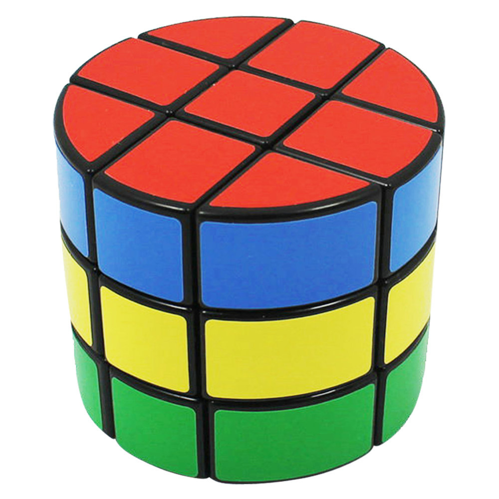 Symbol Of The Brand Yklworld 3x3 Cylindrical Sticker Smooth Speed Magic Cube Professional Puzzle Cube Educational Toys Special Gifts For Kids Magic Cubes s8 Luxuriant In Design