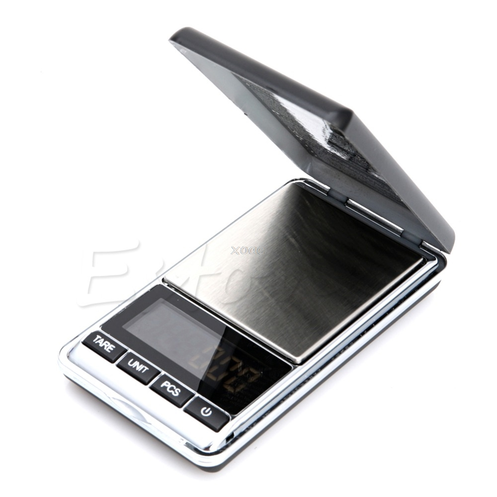 200g 0.01g Digital Jewelry Scale Weight Electronic Pocket + Carrying Pouch A25 Dropshipping