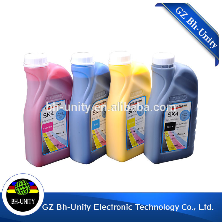 factory price challenger sk4 solvent ink for infiniti galaxy iconteck crystaljet with spt 1020 510 255 print head on sale цены онлайн