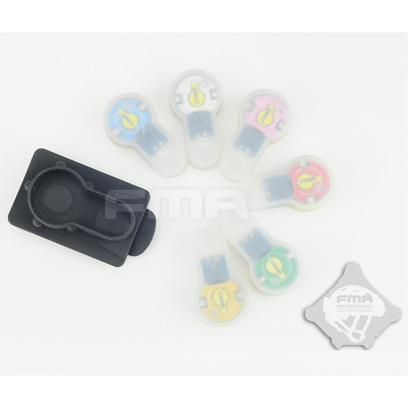 FMA S-LITE рюкзак для шлема, стробоскопический стробоскоп для карт, 6 видов цветов, безопасность выживания, водонепроницаемая лампа, высокая и ни...