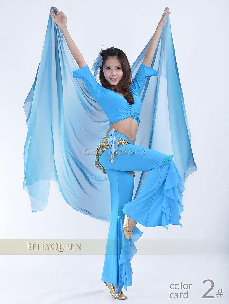 Belly Dance Veils  Silk Scarf Hand Throwing Hand Yarn Scarf For Belly Dancing Veils
