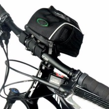 Cycling Bicycle Front Head Top Frame Tube Bag Waterproof Handlebar Holder Pannier Pouch Mountain Bike Case Accessory Storage