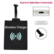 Универсальный Qi беспроводной зарядки приемник карты зарядное устройство модульный коврик для микро-USB мобильного телефона