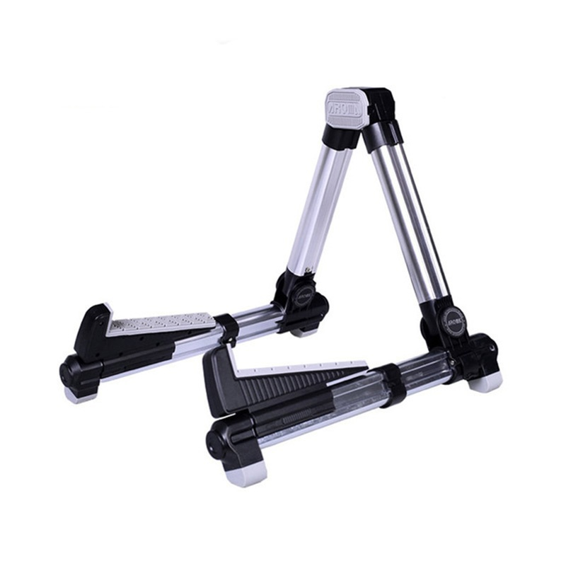 ergonomic a frame ukulele stand ukulele acoustic violin aus 08 silver guitar accessories in. Black Bedroom Furniture Sets. Home Design Ideas