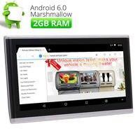 10,1 Android 6,0 HD 1080 P сенсорный экран автомобильный подголовник монитор видео плеер мультимедийный подголовник монитор HDMI USB/FM/IR Wifi