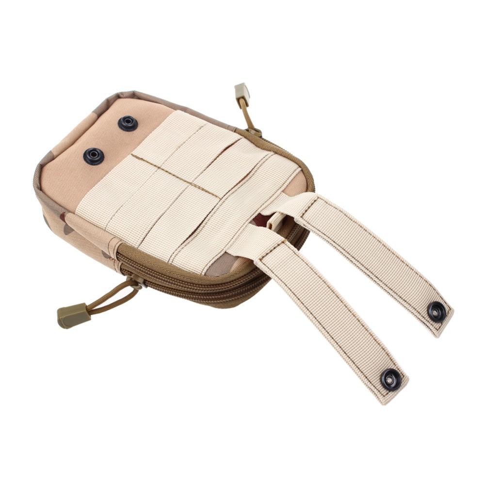 Uniwersalny Odkryty Wojskowy Molle Tactical Kabura Pasa Biodrowego Pasa Torba portfel kieszonki kiesy telefon etui z zamkiem błyskawicznym na iphone 7/lg 14
