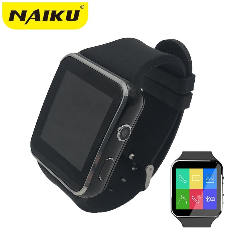 N6 Bluetooth Astuto Della Vigilanza di Sport Passometer Smartwatch con la Macchina Fotografica Carta di Sostegno SIM Whatsapp Facebook per il Telefono Android