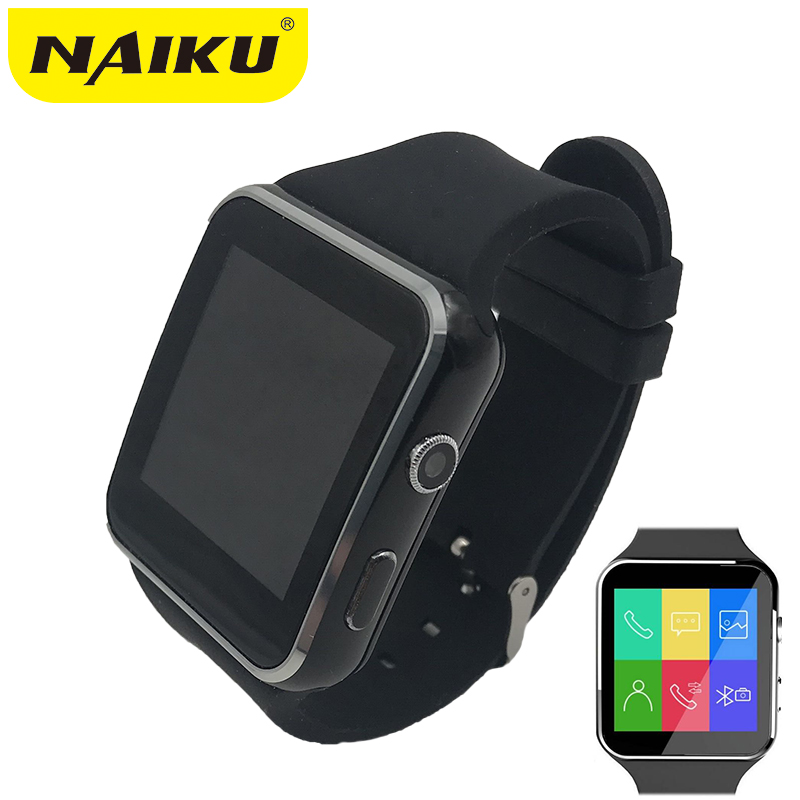 N6 Bluetooth Montre Smart Watch Sport Passometer Smartwatch avec Support de Caméra Carte SIM Whatsapp Facebook pour Android Téléphone