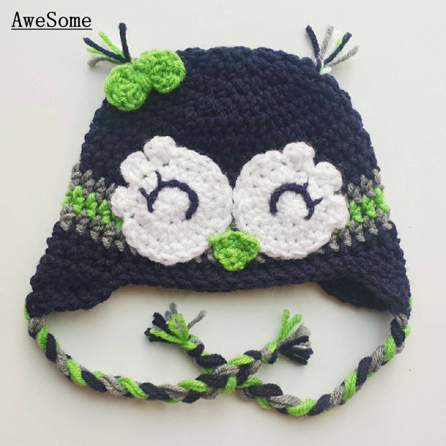 029b98ebb80 Lovely Seahawks Earflap Hat