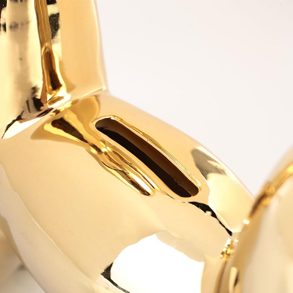 Gold Piggy Bank Toy Ceramic Piggy Bank Bedroom Save Money Party Fashion Interesting Beautiful