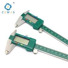 شاشة ديجيتال الفولاذ المقاوم للصدأ الفرجار 0 150 مللي متر 0.01 عالية الدقة LCD الإلكترونية رنيه الفرجار للماء قياس أدوات