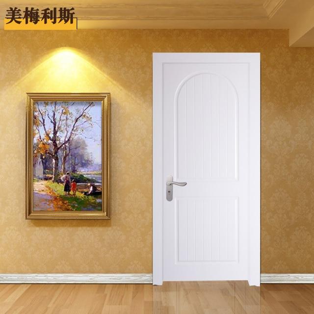 Style Américain De Peinture Porte En Bois Massif Composé Porte Porte